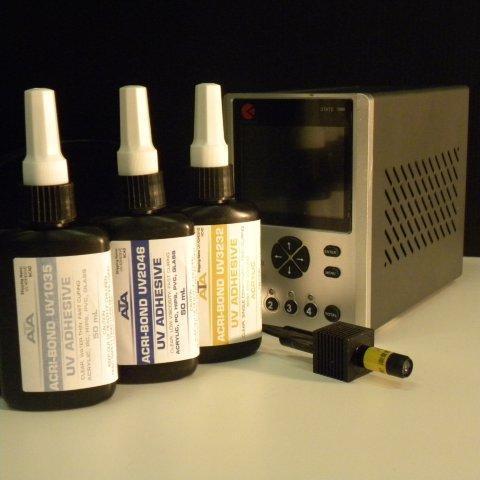 Needle applicators and nozzles